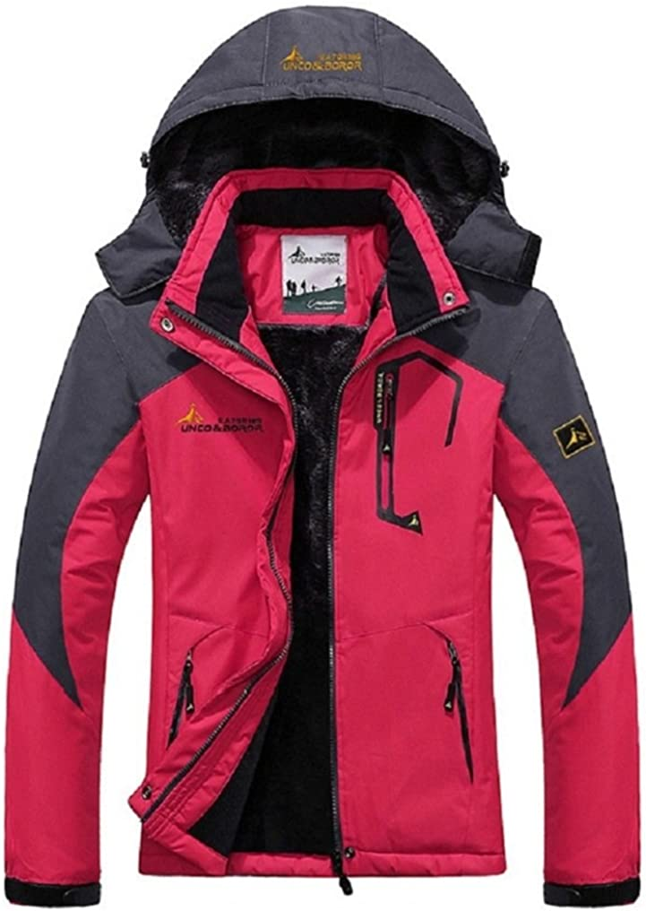 Couple Models Thick Waterproof Windproof Ski Mountaineering Leisure Jackets