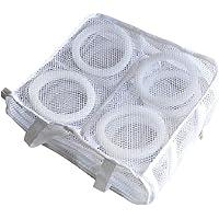 Bolsas de malla para zapatos de lavandería, reutilizables