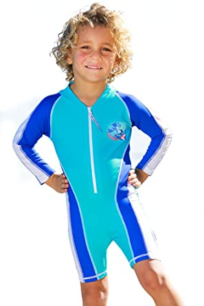 f4323b3a Image Unavailable. Image not available for. Color: SUN EMPORIUM Baby Boys  Swim Suit/Long Sleeve/Short ...