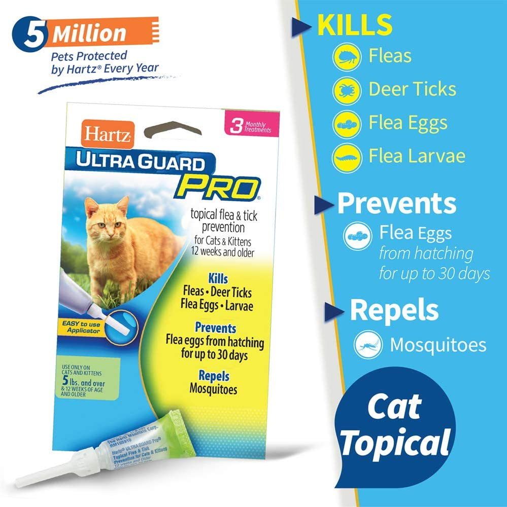 7. Hartz UltraGuard Flea & Tick Topicals for Pets