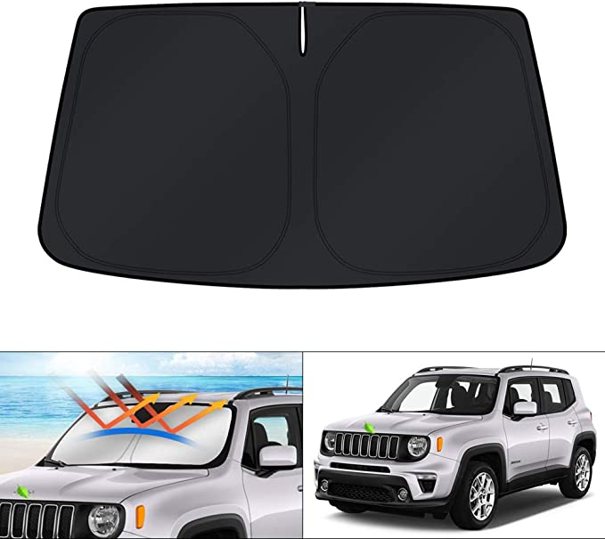 ULQUIEOR Front Windshield Sun Shade Cute Unicorn Galaxy Foldable Universal for Car Truck SUV Blocks Uv Rays Sun Visor Protector-Keep Your Vehicle Cool 51 X 27 Inch