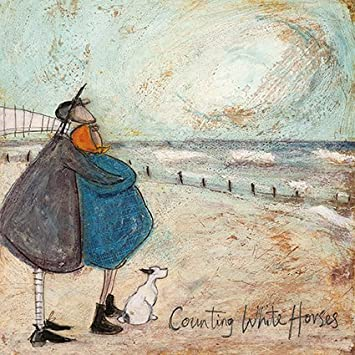 Counting white horses sam toft open greeting card st1801 amazon counting white horses sam toft open greeting card st1801 m4hsunfo