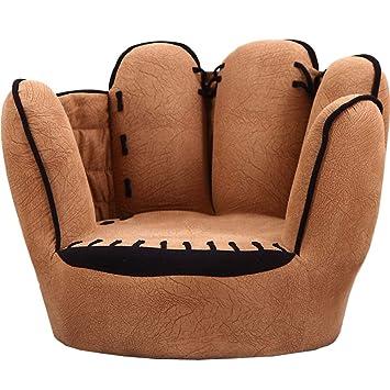 Amazon.com: Sofá con forma de guante de béisbol, estilo de ...