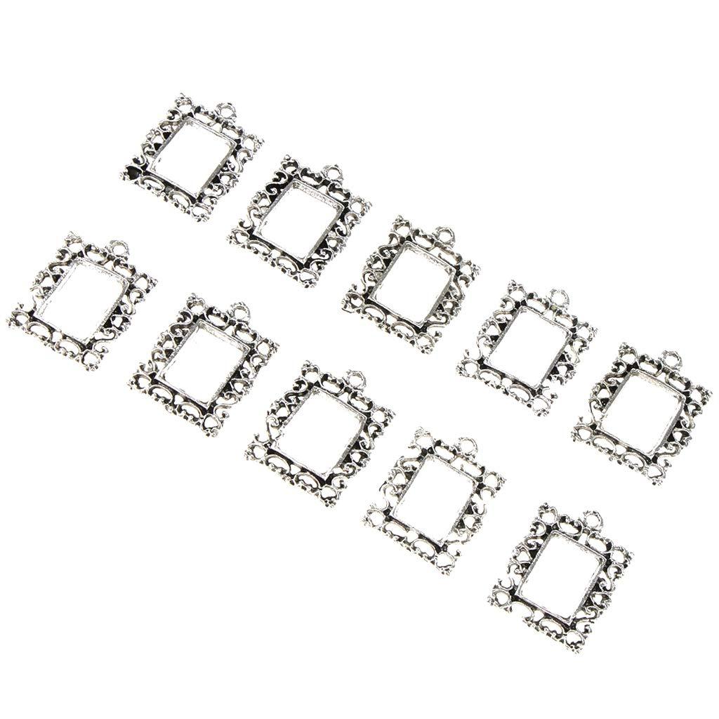 30pcs Abeja Hellery Abalorios para Bisuter/ía Anillos Colgantes Mixtos DIY Accesorios para Pendientes Manualidades Collares