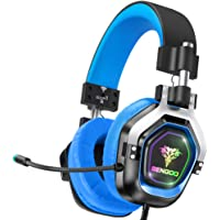 BENGOO G9200 Gaming Headset Headphones for Xbox One PS4 PC Controller, 4 Speaker Drivers Over Ear Headphones with…