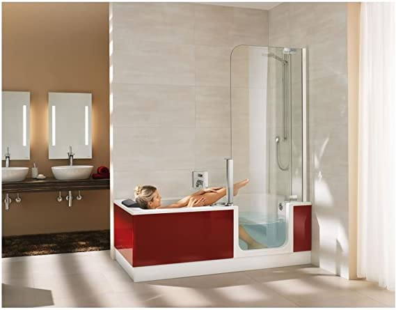 Artweger Twin Line 2 Combi bañera ducha 170 cm Mampara de plata mate: Amazon.es: Bricolaje y herramientas