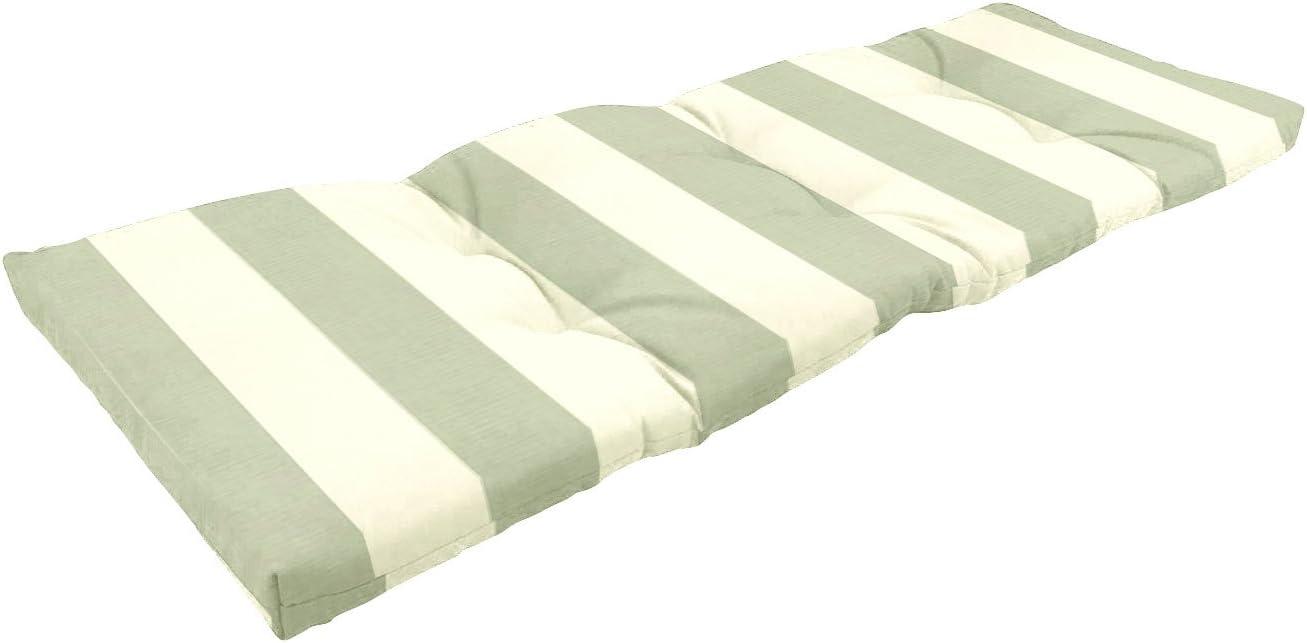 Amazon Custom Furnishings x Easy Way Products 20350 Custom Tufted Knife Edge Bench Cushion