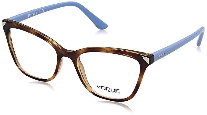 2cd200f509 Vogue - Monture de lunettes - Femme Marron Havana Taille unique ...