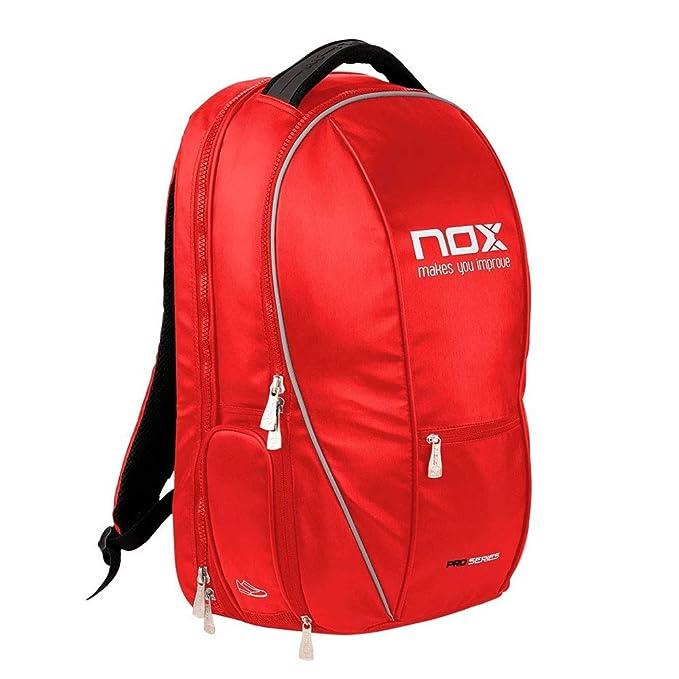 NOX Mochila Pro Series WPT roja: Amazon.es: Deportes y aire libre