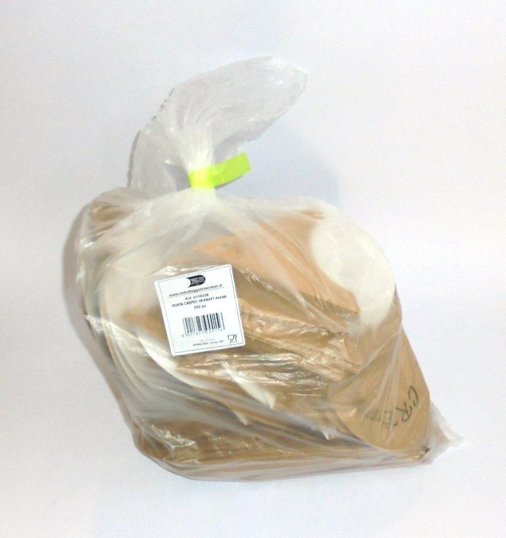 PZ 100/ havane Porte-cr/êpe de 1//8/en carton alimentaire Couleur