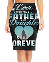 BaodaooI Love DAD Father's Gift Slim Vintage Pencil Skirts For Women High Waist Pencil Skirt Short Fitted Mini Skirt Bundle Packs