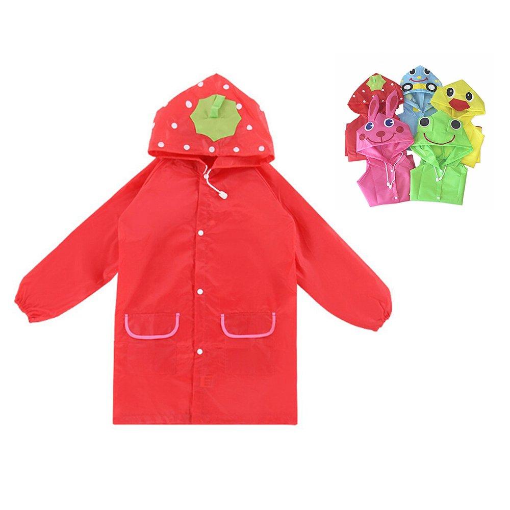 Kids Raincoat Children Rainwear Rainsuit Waterproof Animal Rain Coat Student Poncho