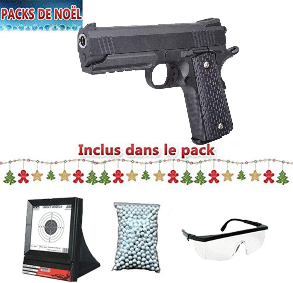 Galaxy Pack Airsoft G25 Tipo Strike Warrior Negro Full Metal ...