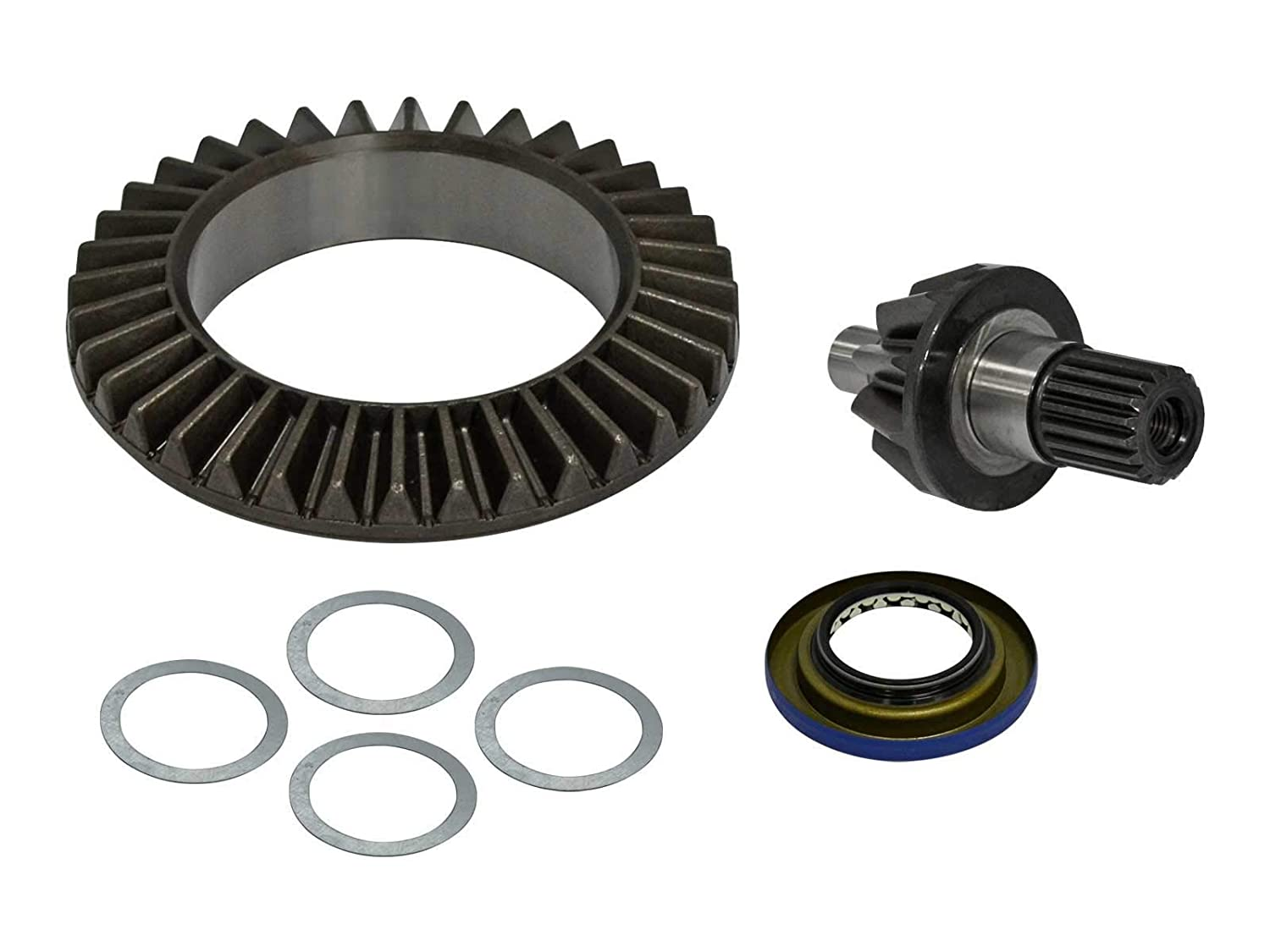 SEE FITMENT Replaces OE # 705401612 SuperATV Heavy Duty Ring and Pinion Gear Set for Can-Am Renegade
