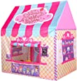 Princess Castle Play Tent Kids Play House Large Indoor/Outdoor Tunnel Pop Up Toys For Baby Parent-child Gift, Summer Shade Toy Play Tent with a Carry Bag (Pink)