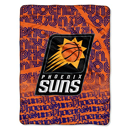 Suns Throw Phoenix - The Northwest Company Officially Licensed NBA Phoenix Suns Redux Micro Raschel Throw Blanket, 46