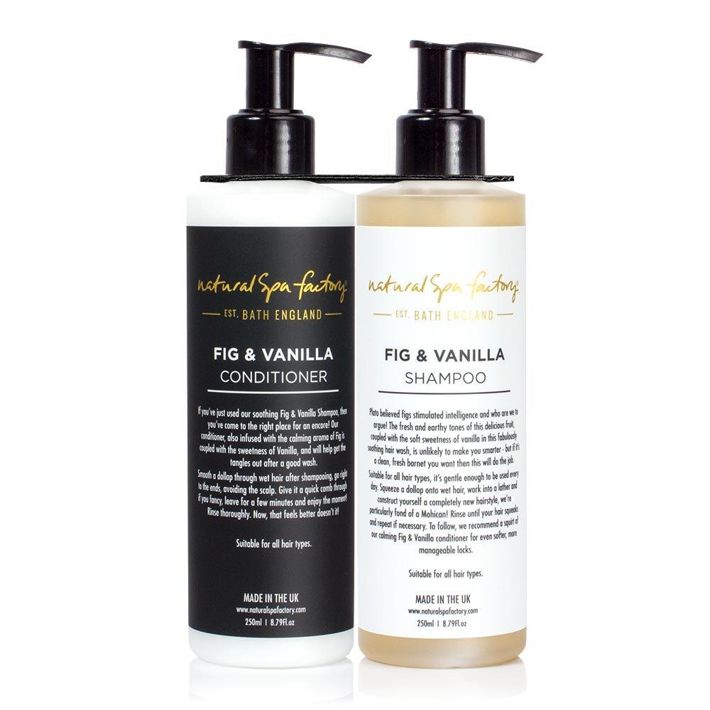Natural spa Factory fico e vaniglia shampoo e balsamo Duo set x VGSF&VRET - FVSC