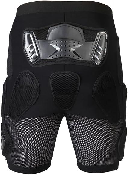 Lixada Shorts de Protection Blindé Motor Racing Cyclisme Ski pour Hommes femmes Snowboard Patinage Motocyclisme Shorts Caleçons
