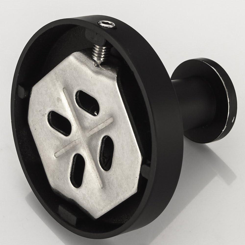 CASEWIND Sus 304 Porte Brosse /à Dents avec gobelet en Verre Givr/é Supportde Brosse /à Dents en Acier INOX 304 Murale Peinture Noire Accessioires Toilettes Salles de Bain