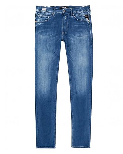 2f885fa43f2b3 Replay Jondrill Skinny Fit Hyperflex Jeans  Amazon.co.uk  Clothing