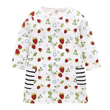 0f769c9b3 Amazon.com  Fineser Winter Toddler Girl Clothes Cotton Long Sleeve ...