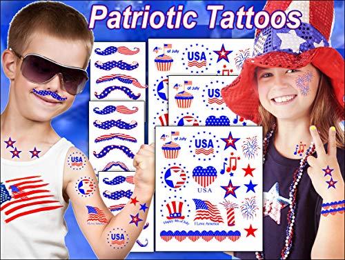 Kid's Tattoos-Patriotic Tattoos for Kids]()