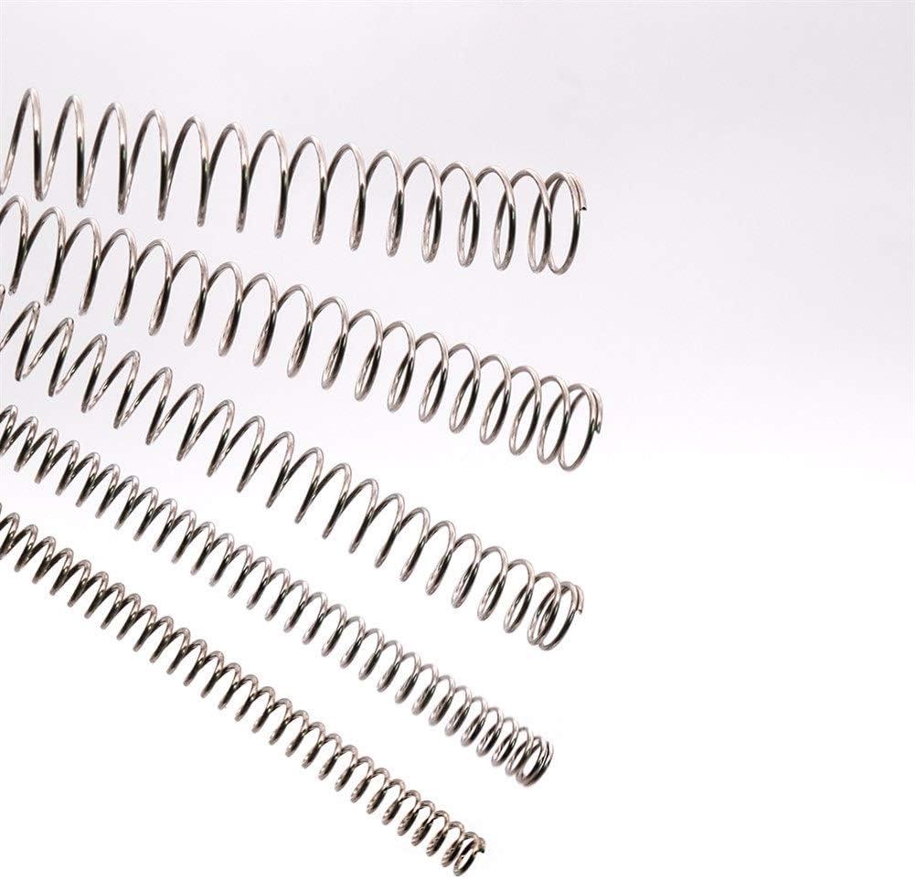YanHua Length : 1.5x10x305mm Piezas de bricolaje hechas a mano Primavera 1PCS Di/ámetro de cable 1.5 mm Tipo Y Comprimido Primavera 305 mm Longitud 304 de acero inoxidable Resorte de compresi/ón