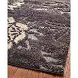 Safavieh Florida Shag Collection SG463-2879 Dark Brown and Smoke Area Rug (8'6″ x 12′) Review