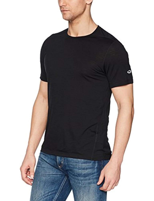 Icebreaker 120 Zeal Short Sleeve Crewe Shirt Shirt Crewe Men - Leichtes Merino Outdoorshirt b72779