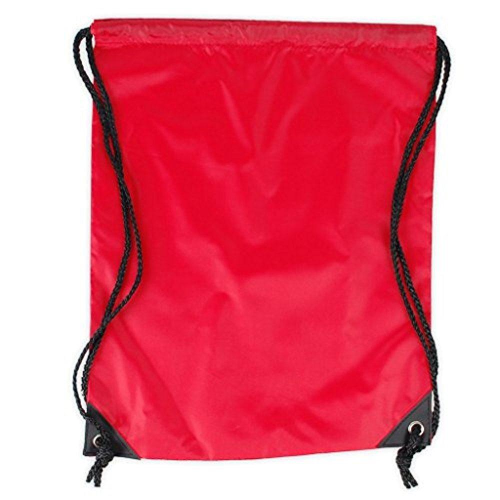 adam & eesa Unisex School Backpack Plain Drawstring Sports Gym Bag Water Proof 45 Liter (Pack of 1) PE-bag