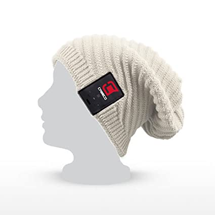 6e48b1b2b45 Caseco Blu-Toque Bluetooth Beanie Knit Skully Beanie Cap Hat with Wireless  Bluetooth Headphone Headset Earphone Music Audio Hands-Free Phone Call for  ...