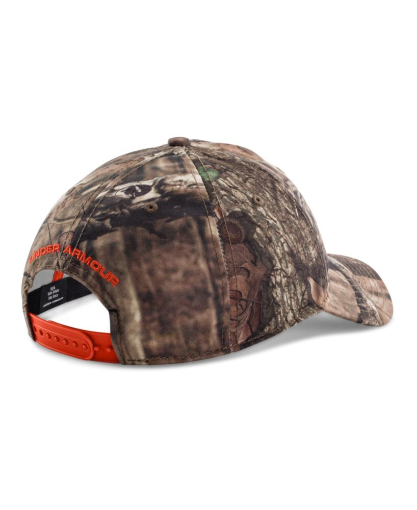 54a181cf32b Amazon.com  Under Armour Men s UA Camo Cap One Size Fits All Mossy Oak Break -Up Infinity  Sports   Outdoors