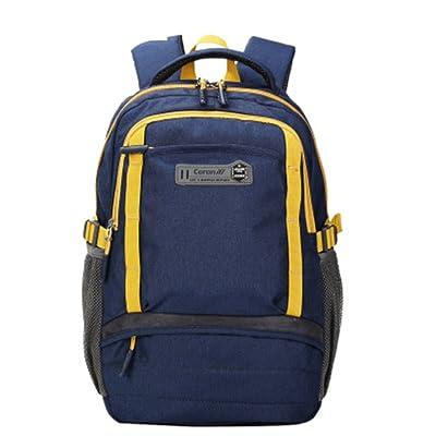 Grand sac d'ordinateur de capacit¨¦, sac de voyage en plein air,sac d'¨¦tudiant-A