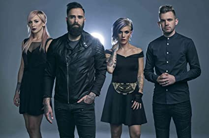 Amazon com: Get Motivation Skillet American Christian rock band Jen