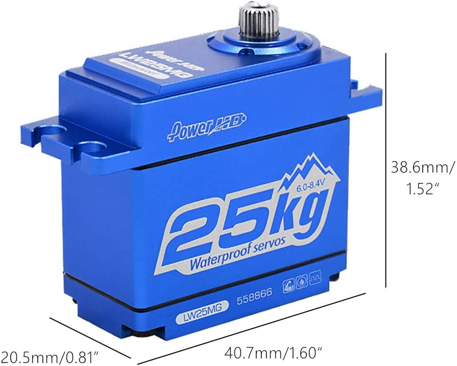 Power HD LW-25MG Super Torque Digital Servo para Traxxas ...