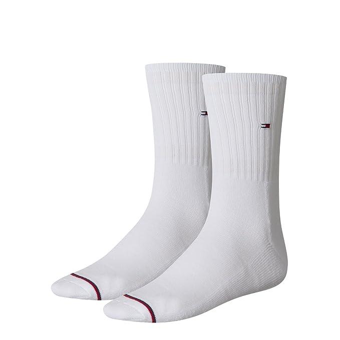 Tommy Hilfiger - Calcetines de deporte - para hombre blanco: Amazon.es: Ropa y accesorios