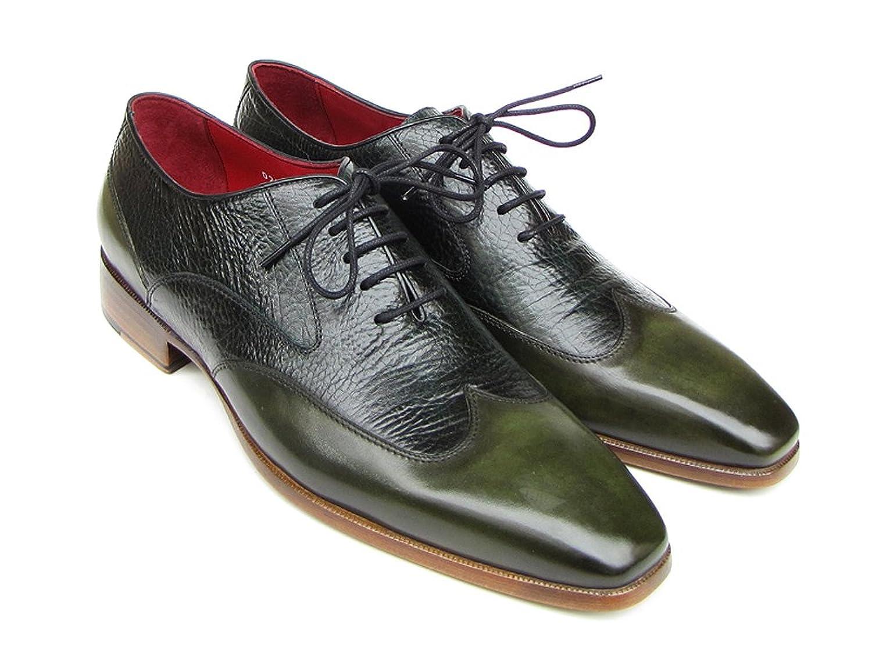 Paul Parkman - Náuticos para hombre Leather Green 7 UK / 39 EU / 6.5 US
