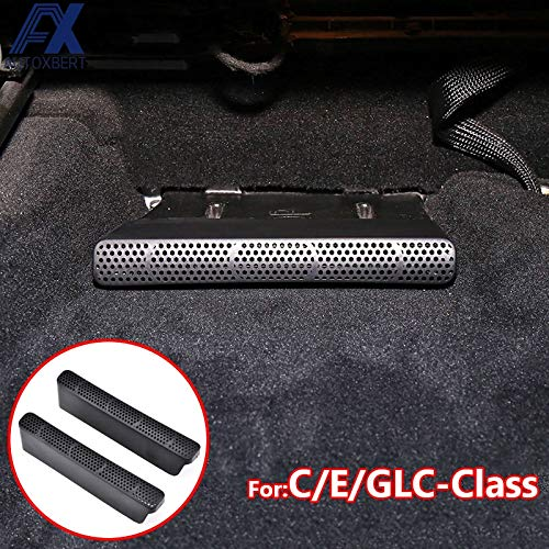 VT BigHome AX for Benz C/E / GLC Class W205 S205 W213 S213 Under Seat Floor Rear AC Heater Air Conditioner Duct Vent Cover Grill Outlet