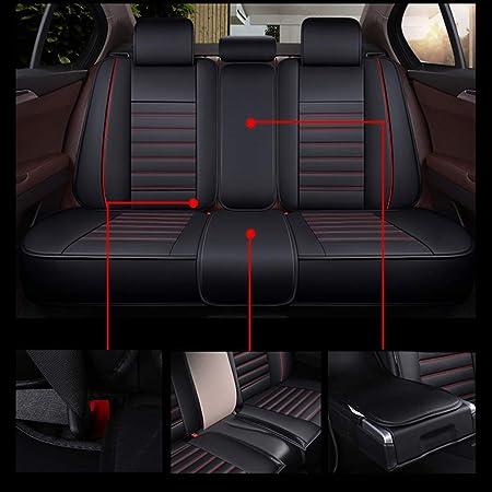 Walking Tiger Auto Sitzbezug Set 13 Stück Protector Fahrzeug Schwarz Autositze Für Golf Tiguan Touareg T Roc 308 508 Sw Focus Kuga Mondeo Edge Auto