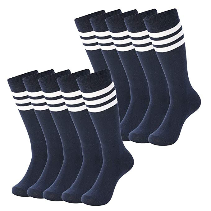 Soccer Is All Crew Sock Cotton Cute Solid Socks Womens
