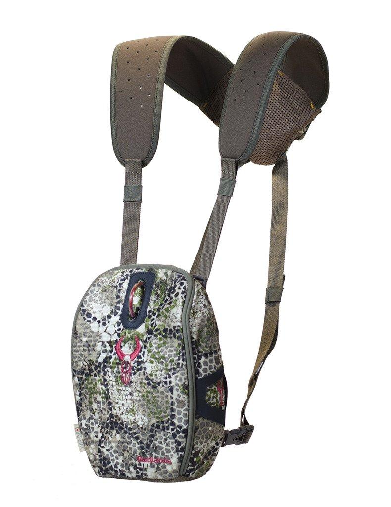 Badlands Bino Case Mag Camouflage Hunting Binocular Case, Hydration Compatible, Approach Camo by Badlands
