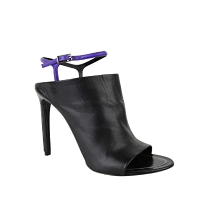 a79a6c63047 Image Unavailable. Image not available for. Color  Balenciaga Women s  Violet Ankle Straps ...