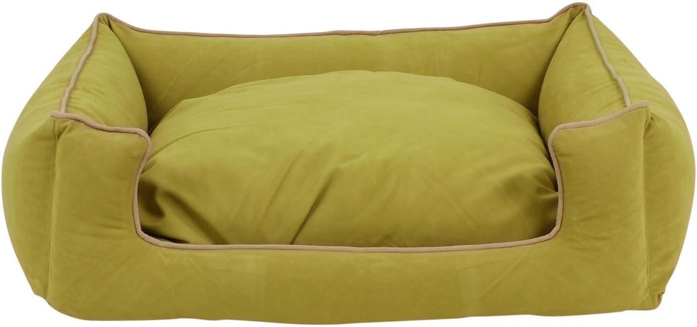 Carolina Pet Company Green Microfiber Low Profile Kuddle Lounge