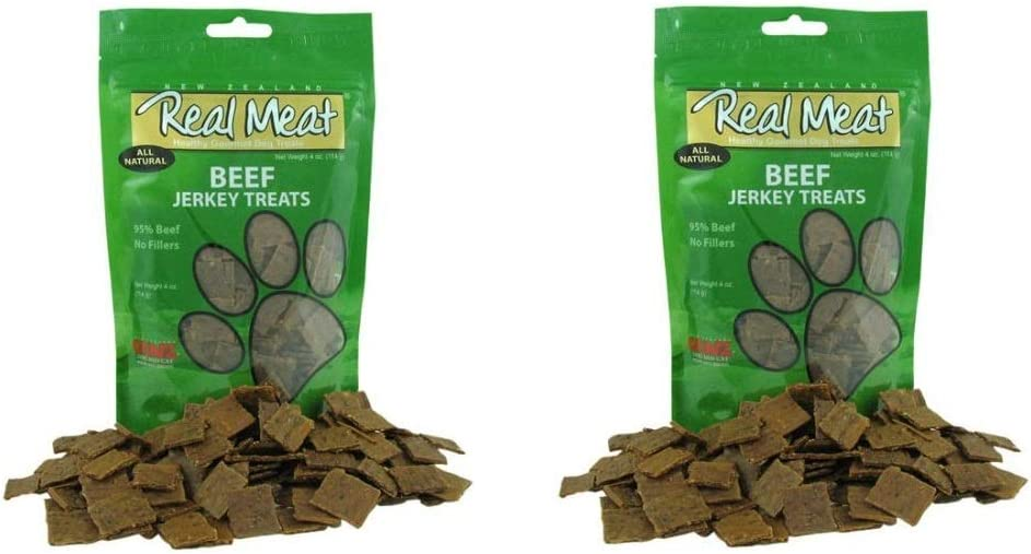 Real Meat Beef Jerky Dog Treats (2 Pack)