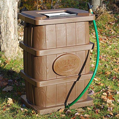 Brown Rain Catcher  - 50 Gallon by Achla (Image #2)