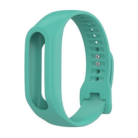 TomTom Touch Correa de reloj de silicona, correa de repuesto para TomTom Touch Cardio Tracker