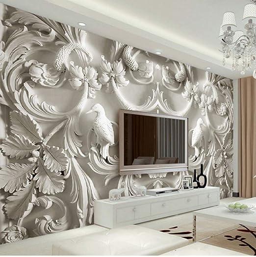 3D Stereoscopico Tv Sfondo Muro Sfondi Rilievo Stile Europeo ...