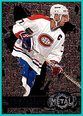 1996-97 Metal Universe #84 Pierre Turgeon MONTREAL CANADIENS