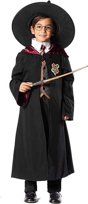 chiber Disfraces Disfraz de Mago o Hechicero para Niño (Talla 9 (8 ...