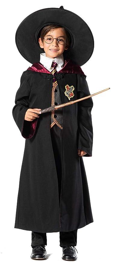 chiber Disfraces Disfraz de Mago o Hechicero para Niño ...